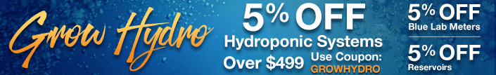 Grow Hydro Sale!