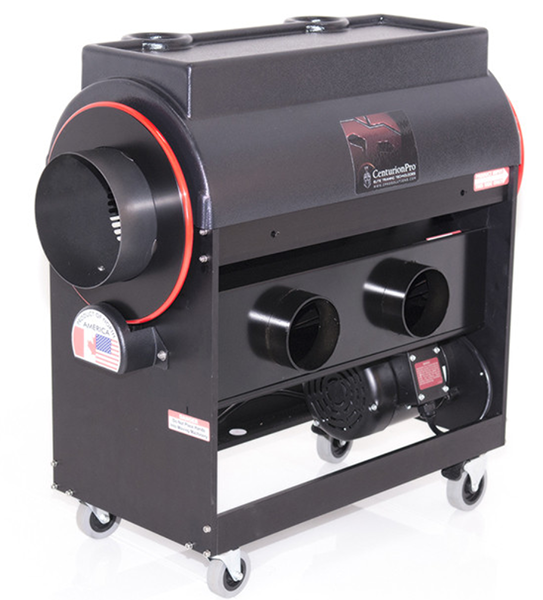 Medium size hobby growers and commercial farmers can use the CenturionPro Original Trimming Machine to harvest fast