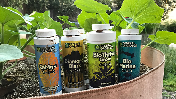 Hydroponic nutrients for plants