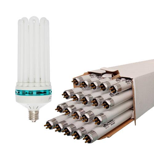 Fluorescent Grow Light Bulbs & Tubes