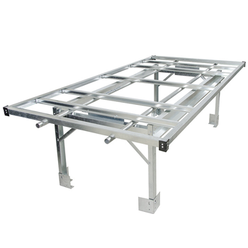 Hydroponic Grow Tray Stands & Rolling Benches