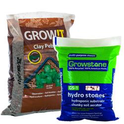 Clay Pebbles & Growstones