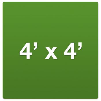 4' x 4' Grow Tents