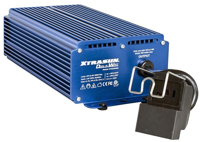 Xtrasun Variable Watt 400 Watt Digital Ballast 120 240