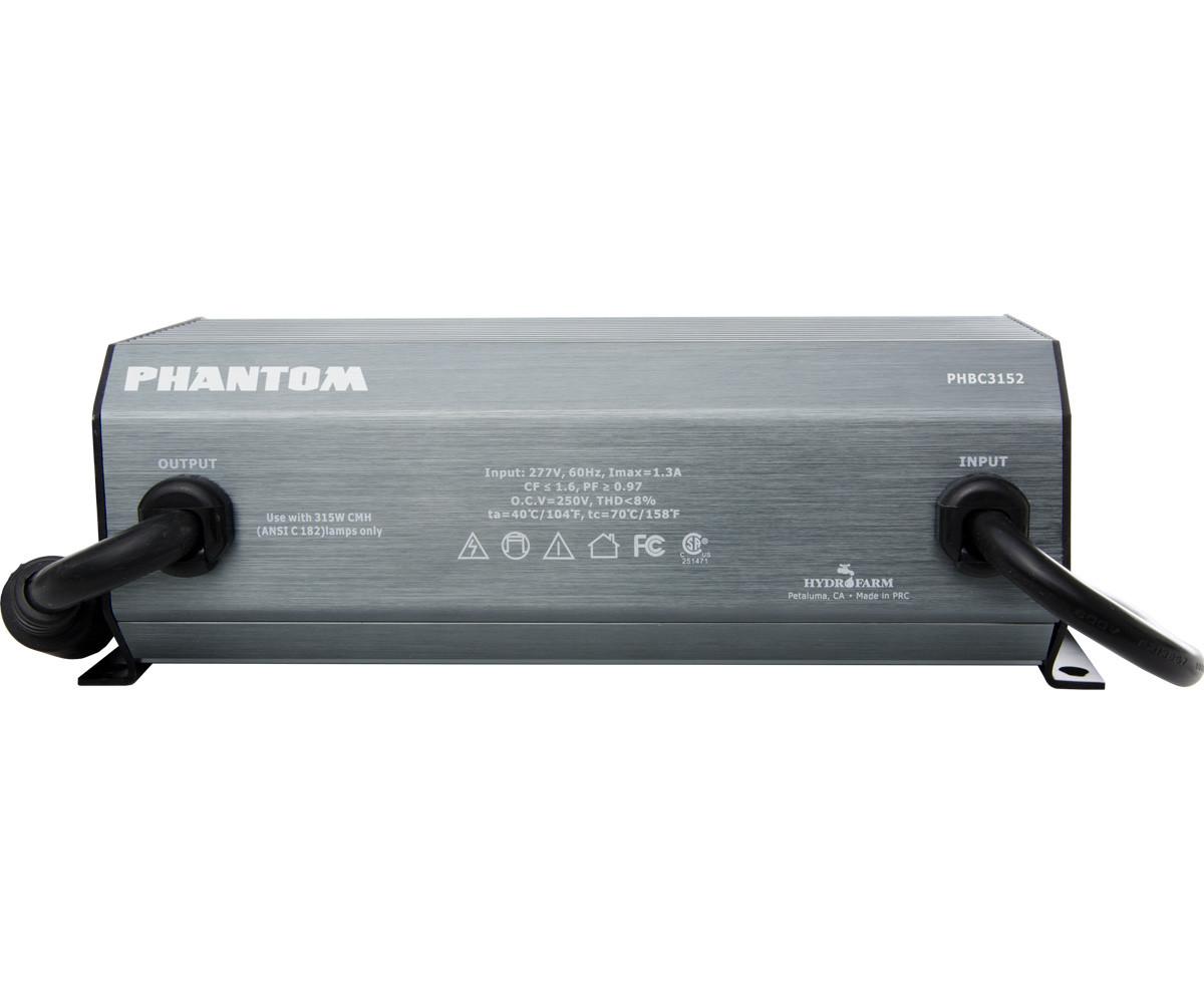 Phantom Ii 315 Watt Cmh Digital Grow Light Ballast 277