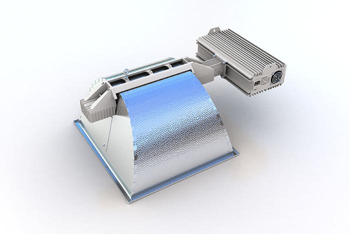 Nanolux DE 4x4 1000w HPS Fixture 120/240v (Lamp Not Included)