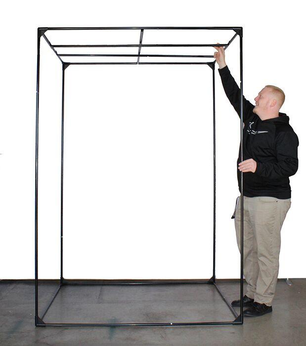 High Rise 3' x 3' D300W LED Grow Tent Kit