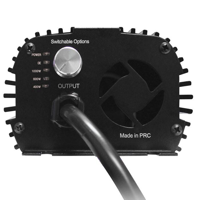 Growlite 1000 Watt DE Electronic Ballast, 120/277 Volt