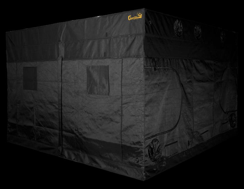 Gorilla Grow Tent 10' x 10' California Lightworks SolarSystem 1100W LED Grow Tent Kit