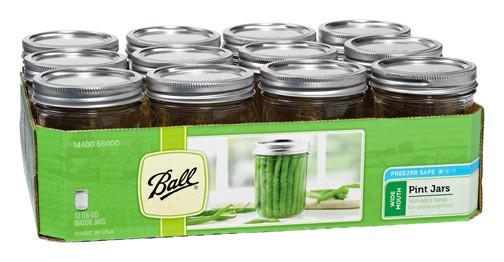 Mason Jar, 32 oz. - Pack of 12