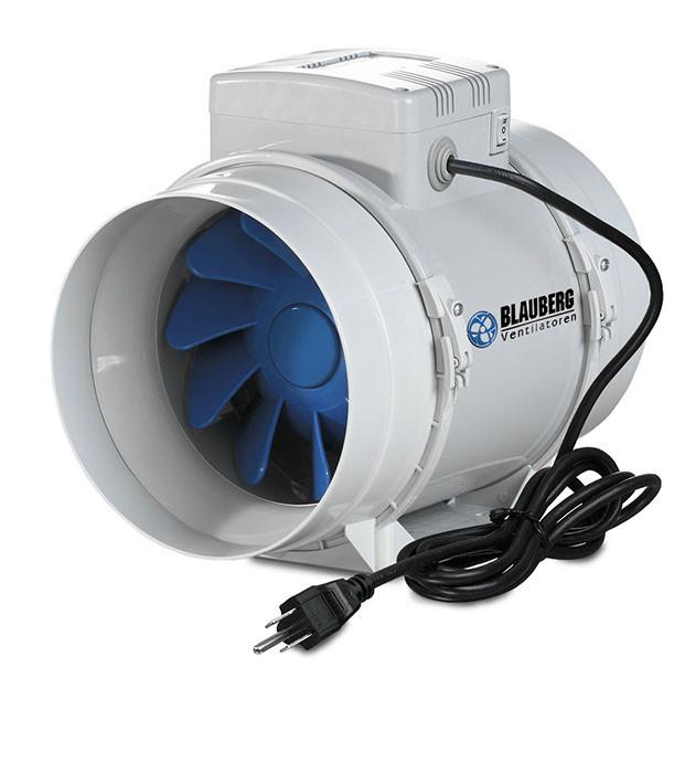 Blauberg Inline Mixed Flow Fan 4u0026quot;