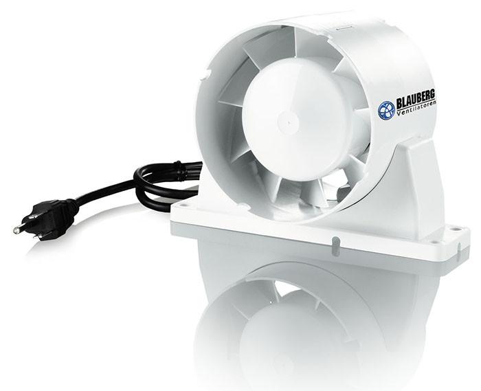 Axial Exhaust Fan : Blauberg axial inline fan quot intake exhaust