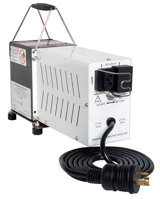 Hydrofarm SG 1000 Watt Magnetic Convertible Ballast, 277 Volt