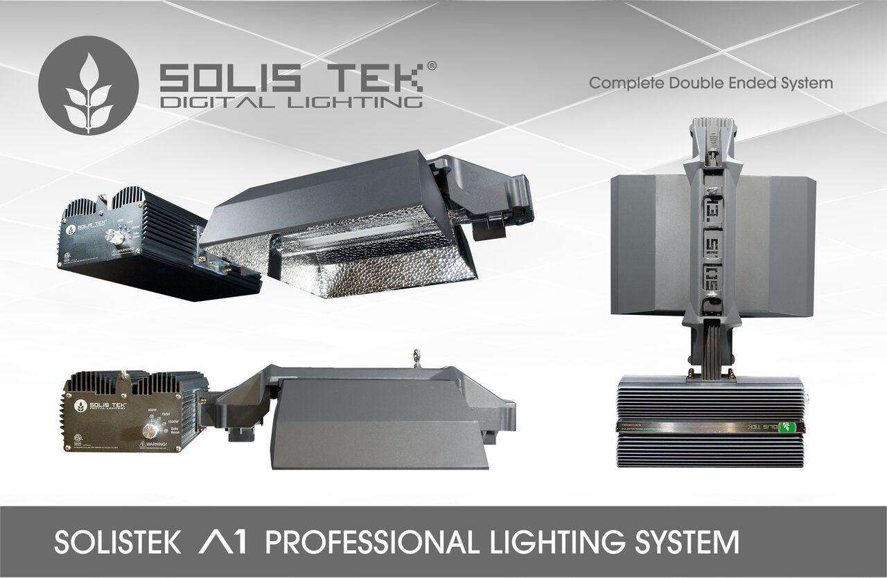 Solis Tek - Doubled Ended DE A1+ 1000 Watt Adjustable HPS Grow Light ...