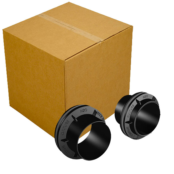 """Current Culture UC Spin Tight Bulkhead 2"""" - Case of 48"""