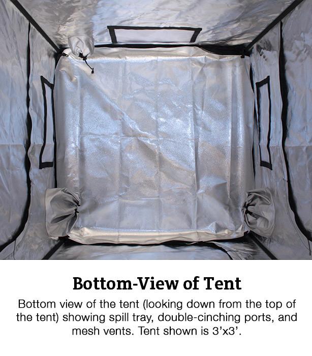 Covert 3' x 3' Grow Tent