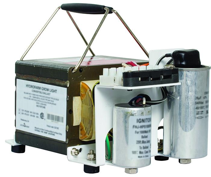 Hydrofarm SG 1000 Watt Magnetic HPS Open Ballast, 120/240 Volt