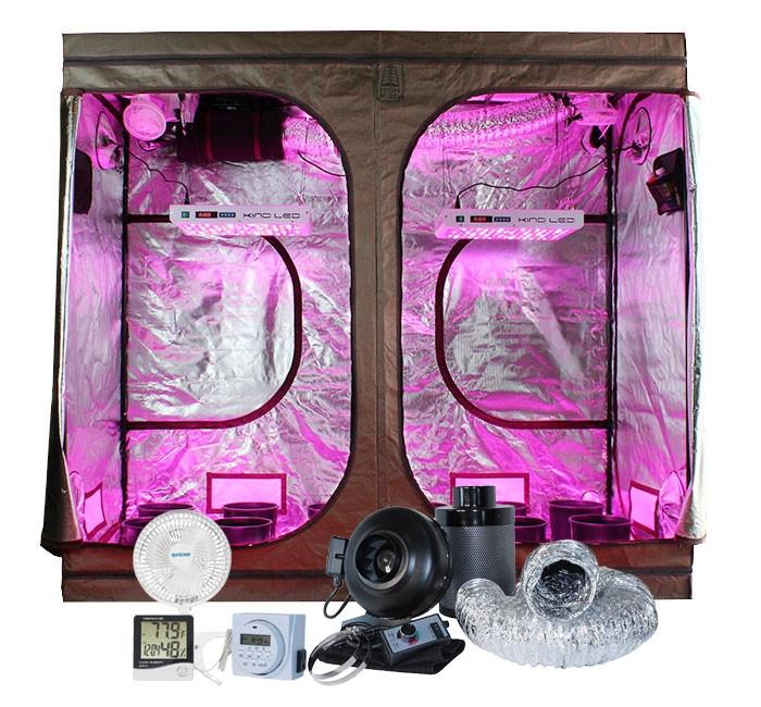 Covert 4' x 8' KIND K3 XL600 LED Grow Tent Kit