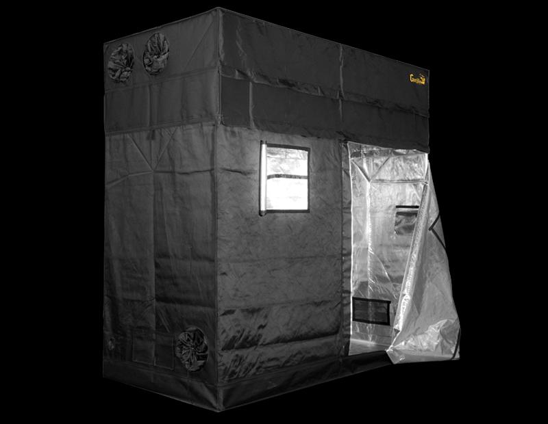 Gorilla Grow Tent Shorty 4' x 8' Fluorescent T5 Veg Soil Grow Tent Kit
