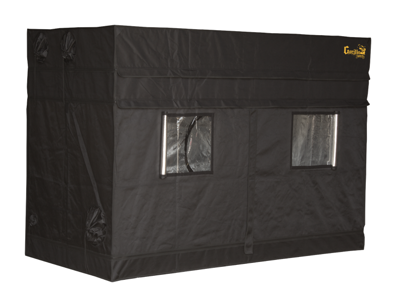 Gorilla Grow Tent - Shorty Line - 4u0027 x 8u0027 Heavy Duty Grow Tent  sc 1 st  Hydrobuilder.com & Grow Tent - Shorty Line - 4u0027 x 8u0027 Heavy Duty Grow Tent