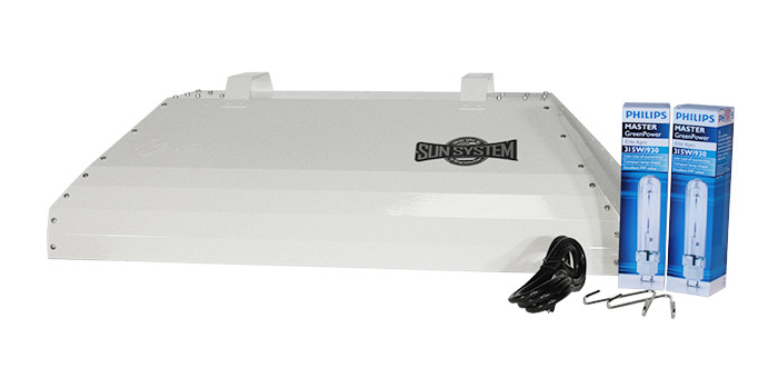Sun System 630 Watt Lec Fixture With 3100k Lamp 208 240 Volt