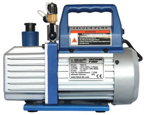 Ideal-Air HVAC Vacuum Pump, 7 CFM