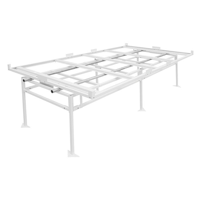 Ordinaire Fast Fit Rolling Bench Tray Stand 4 Ft X 8 Ft 4u0027 X 8u0027 Flood Table Stands  Hydroponic Grow Tray Stands U0026 Rolling Benches Hydroponic Grow Trays U0026 Stands  ...