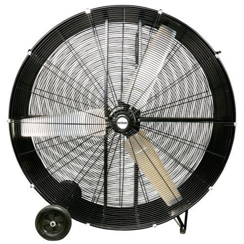 Heavy Duty Fan : Hurricane pro heavy duty drum fan inch floor pedestal