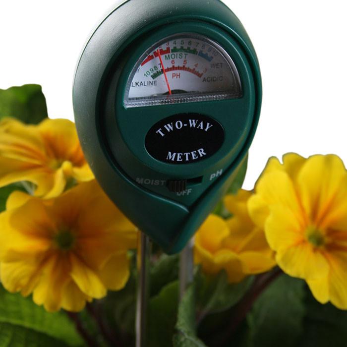 2-Way pH & Moisture Meter
