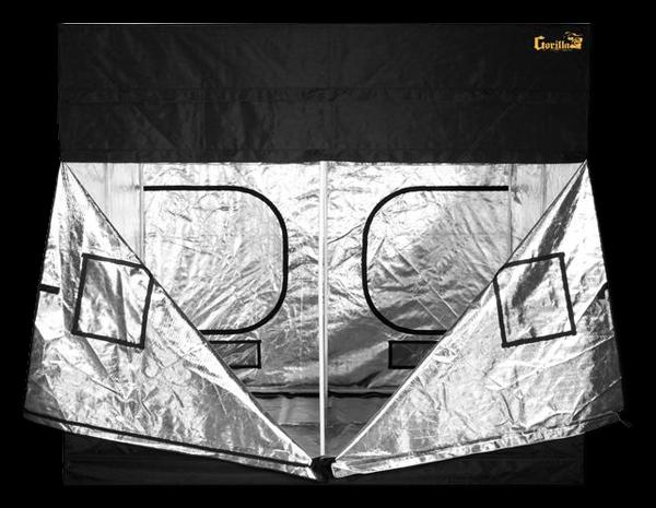 Gorilla Grow Tent 8' x 8' 600W HPS/MH Air-Cooled Grow Tent Kit
