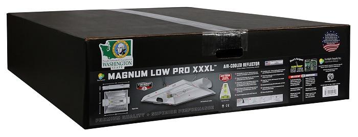 "Magnum Low Pro XXXL 8"" Air-Cooled Grow Light Reflector"