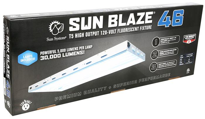 Sun System Sun Blaze T5 Ho 46 4 Ft 6 Lamp