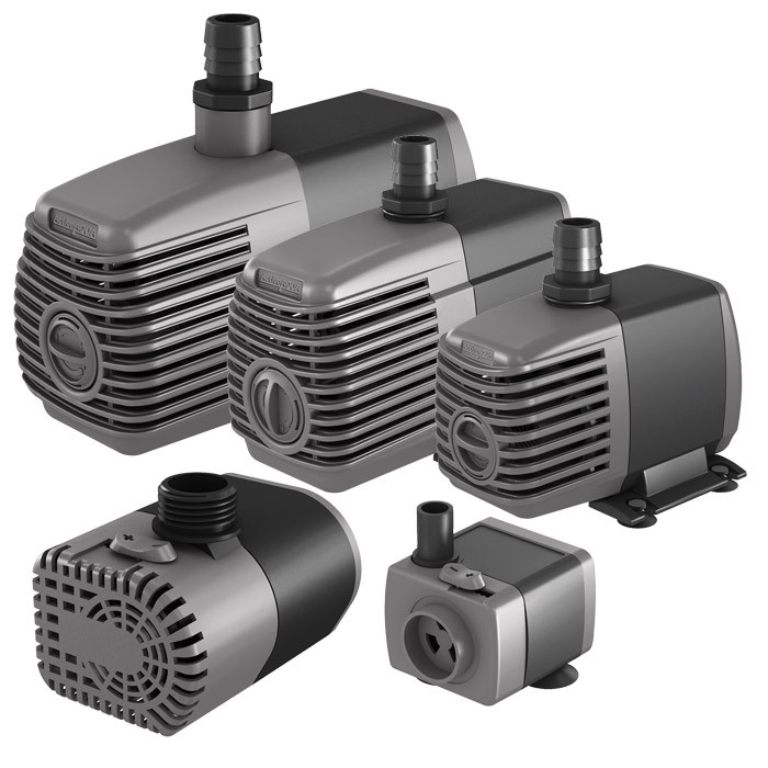 Active aqua submersible inline water pumps for Inline hydroponic pump