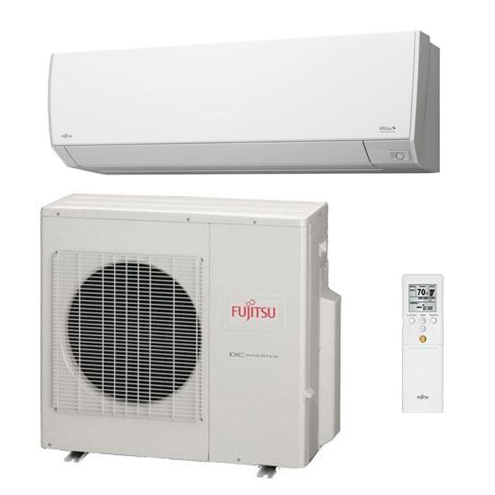 Fujitsu Halcyon Single Zone Ductless Mini Split Air