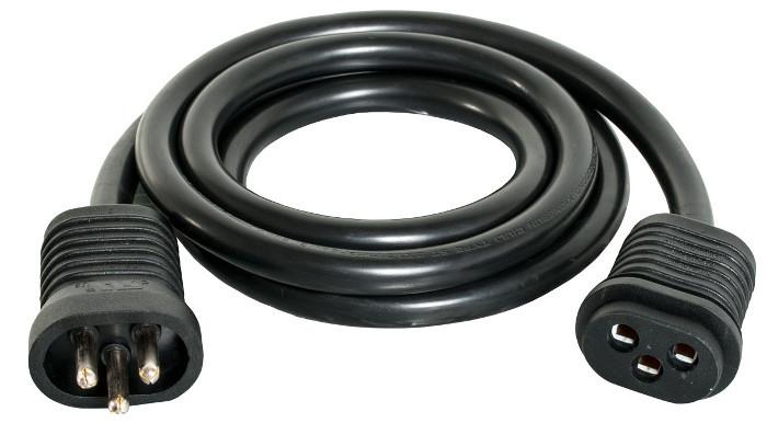 Extension Cord Lock : Hydrofarm lock seal lamp cord extension