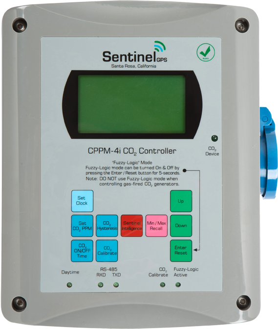 Sentinel GPS CPPM-4i CO2 Controller with Fuzzy Logic