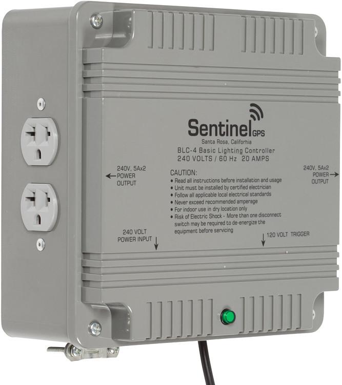 Sentinel Gps Blc 4 Basic Lighting Controller 4 Outlet