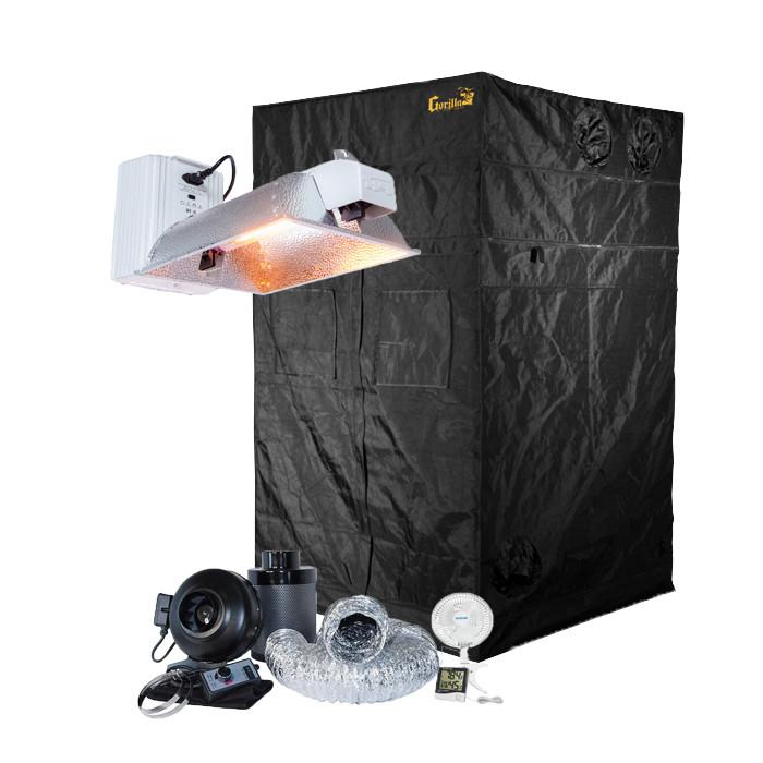 Gorilla Grow Tent 4' x 4' Phantom 1000 Watt Double Ended Grow Tent Kit