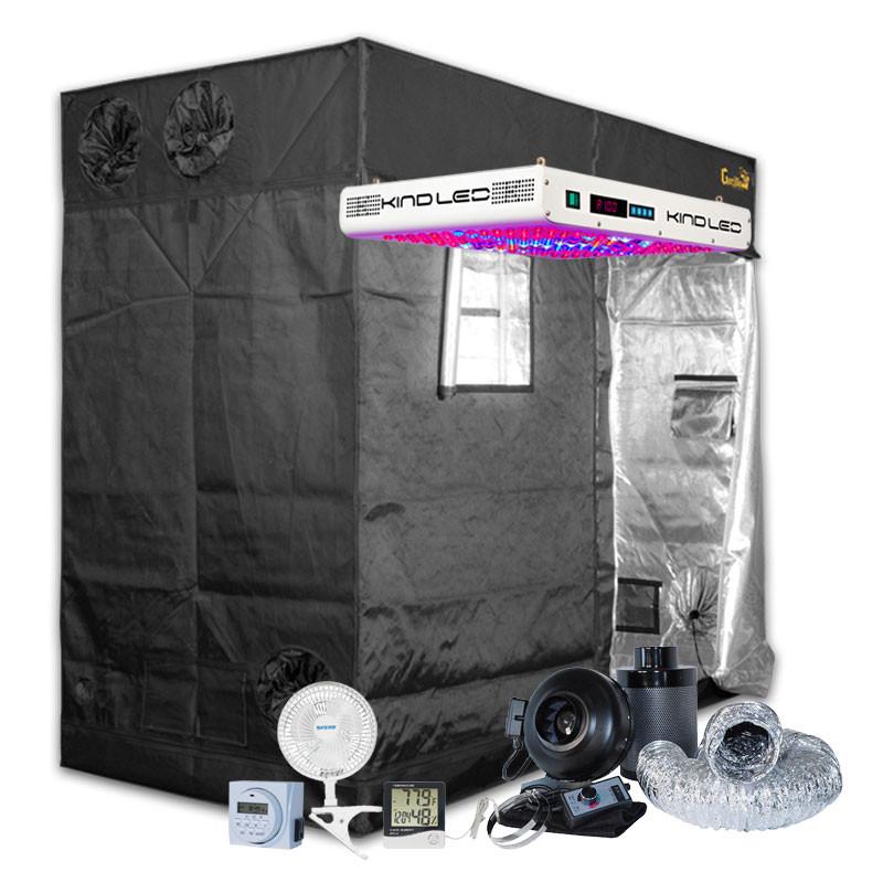 Gorilla Grow Tent 4u0027 x 8u0027 KIND K5 XL750 LED Soil Grow Tent Kit  sc 1 st  Hydrobuilder.com & Grow Tent 4u0027 x 8u0027 KIND K5 XL750 LED Soil Grow Tent Kit
