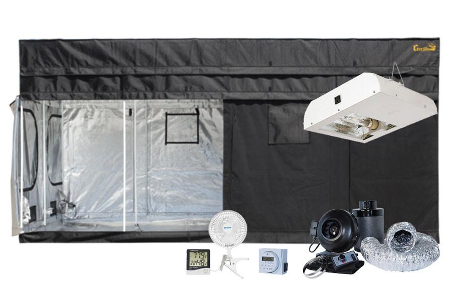 Gorilla Grow Tent 8u0027 x 16u0027 Sun System 630W LEC Grow Tent Kit  sc 1 st  Hydrobuilder.com & Grow Tent 8u0027 x 16u0027 Sun System 630W LEC Grow Tent Kit