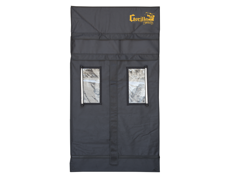 Gorilla Grow Tent - Shorty Line - 3' x 3' Heavy Duty Grow Tent