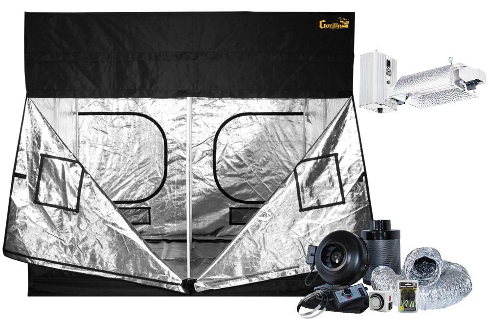 Gorilla Grow Tent 10' x 10' Gavita Pro E-Series 6/750e DE Flex Grow Tent Kit