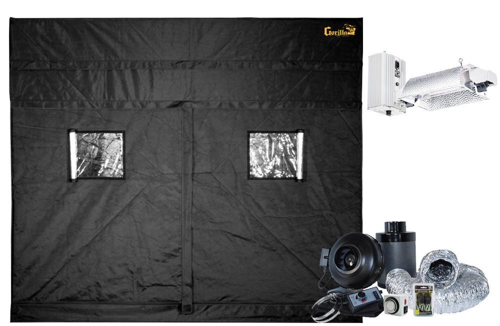 Gorilla Grow Tent 9' x 9' Gavita Pro E-Series 6/750e DE Flex Soil Grow Tent Kit