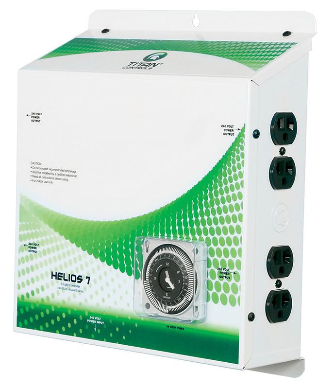 Light Controller With Timer: 8 Light 240 Volt Controller W