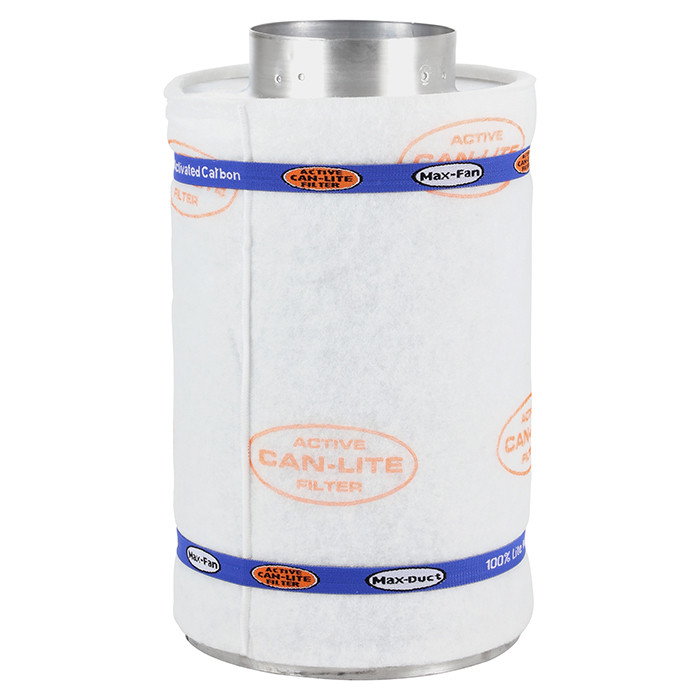 "400 CFM 6/"" x 16/"" Active Air Carbon Filter"