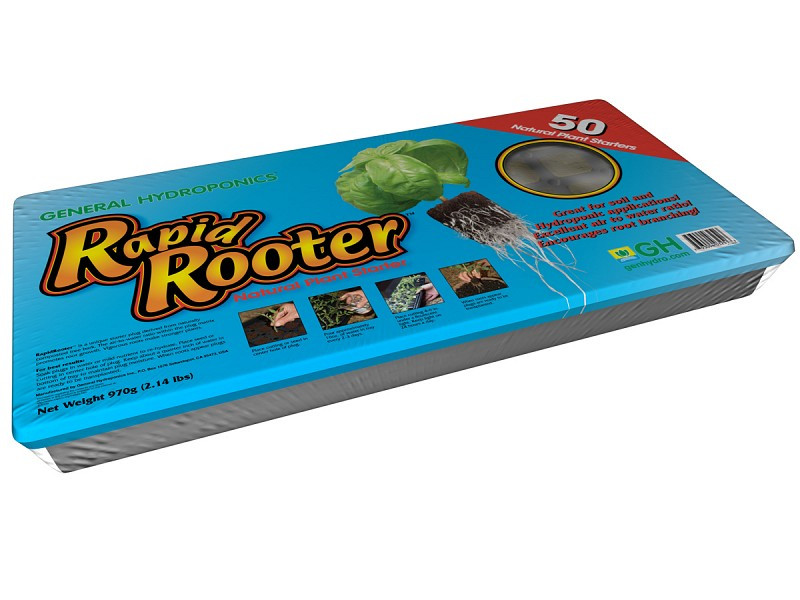 General Hydroponics Rapid Rooter Tray 50 cell tray and plugs