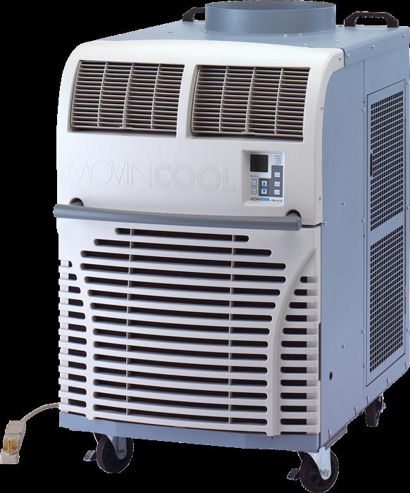 Movincool portable 36 000 btu air conditioner office pro 36 for 1 ton window ac power consumption per hour