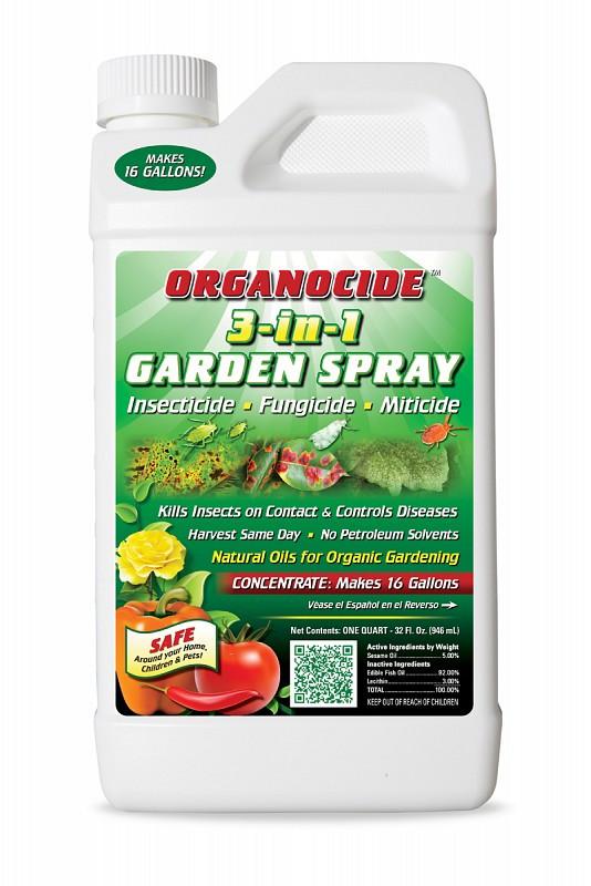 Organocide Insecticide Miticide Fungicide Qt