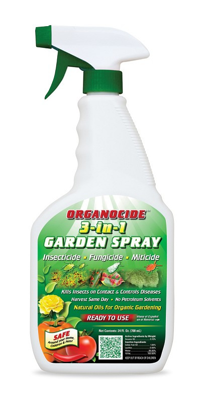 Organic Laboratories Organocide Insecticide Miticide Fungicide Ready To Use 24 Oz