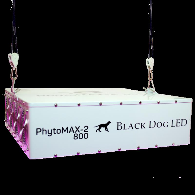 black dog phytomax 2 800 watt led grow light fixture. Black Bedroom Furniture Sets. Home Design Ideas
